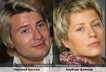 Николай Басков и Барбара Деммер