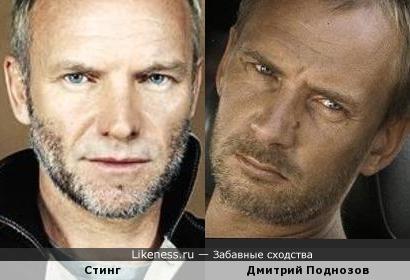 Стинг и Дмитрий Поднозов