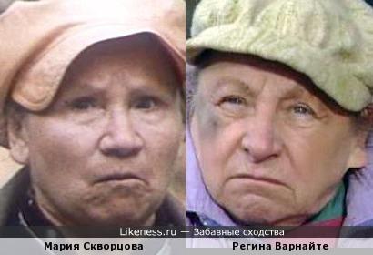 Бабуськи в кепках