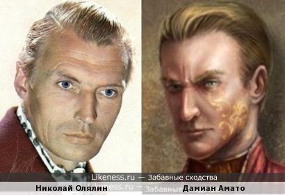 Николай Олялин и Дамиан Амато