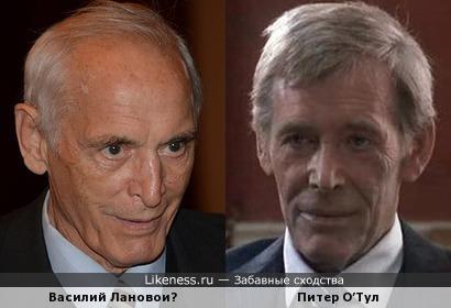 Василий Лановой и Питер О'Тул