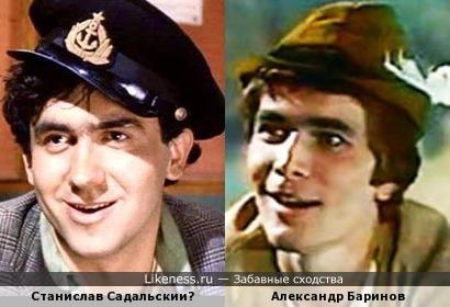 Станислав Садальский и Александр Баринов