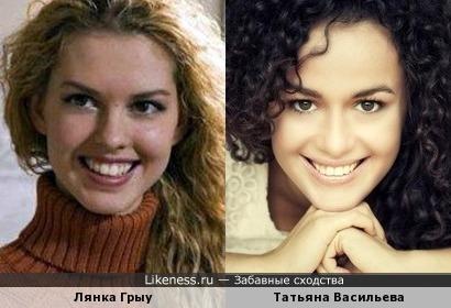 Лянка Грыу и Татьяна Васильева