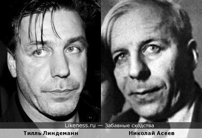 Тилль Линдеманн и Николай Асеев