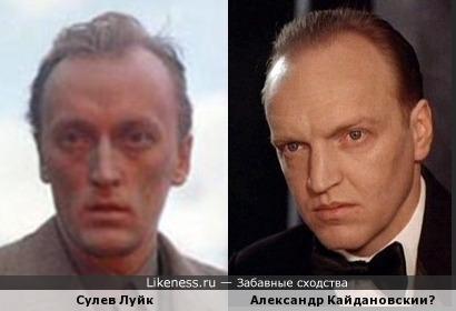 Сулев Луйк и Александр Кайдановский
