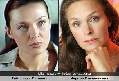 Габриэлла Мариани и Марина Могилевская