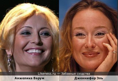 Анжелика Варум и Дженнифер Эль