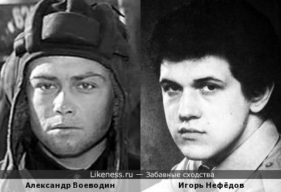 Александр Воеводин и Игорь Нефёдов