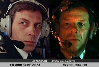 Евгений Карельских и Георгий Жжёнов
