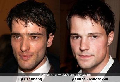 Эд Стоппард и Данила Козловский