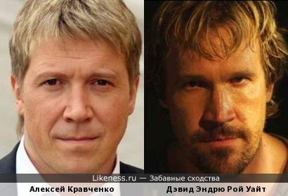 Алексей Кравченко и Дэвид Эндрю Рой Уайт