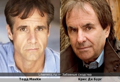 Тодд МакКи и Крис Де Бург