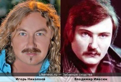 Игорь Николаев и Владимир Ивасюк