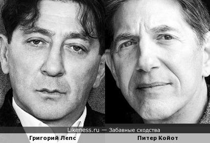 Григорий Лепс и Питер Койот