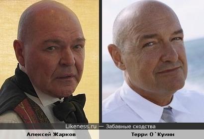 Алексей Жарков и Терри О`Куинн