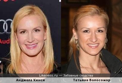 Татьяна Волосожар похожа на Анджелу Кинси (Офис)