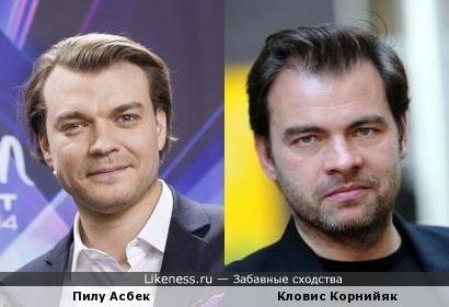 Ведущий Евровидения и французский актер