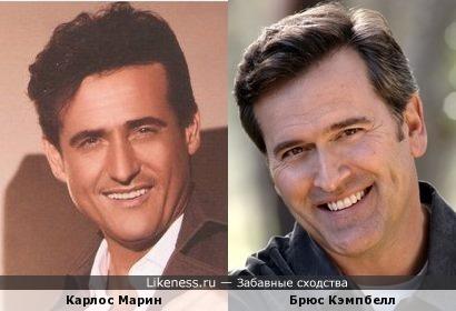 Карлос Марин из Il Divo очень похож на Брюса Кэмпбелла