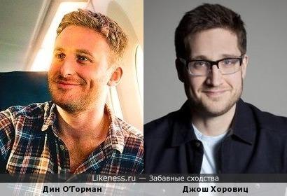 Дин О'Горман напомнил ведущего Джоша Хоровица