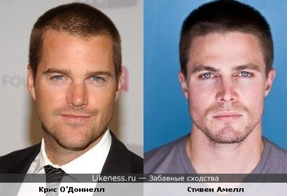 Стивен Амелл(Stephen Amell) из Стрелы и Криса О'Доннелла(Chris O'Donnell) из Бэтмен и Робин