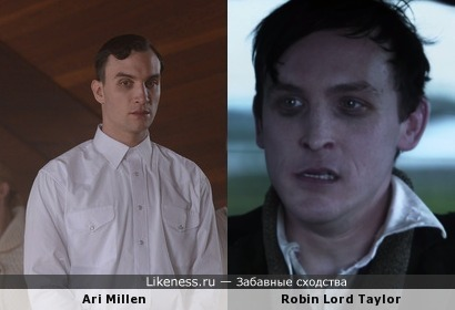 Ari Millen (Orphan Black) похож на Robin Lord Taylor (Gotham)