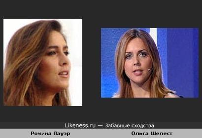 Ольга Шелест в некоторых ракурсах напоминает Ромину Пауэр