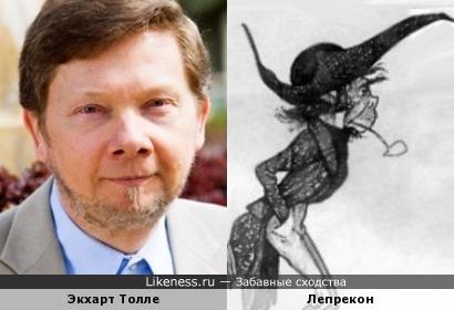 Экхарт Толле похож на Лепрекона