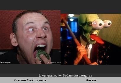 """Степан Меньщиков репетирует роль в""""Маске"""" без маски."""