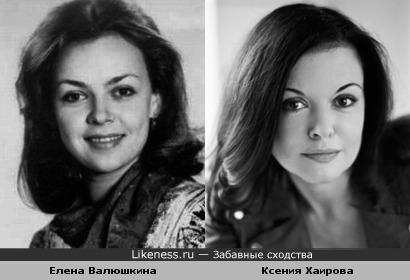 Елена Валюшкина и ксения Хаирова (фото2)