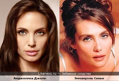 Анджелина Джоли и Эммануэль Сенье