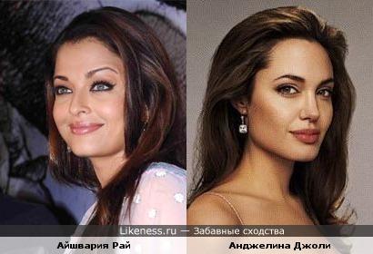 Айшвария Рай и Анджелина Джоли (фото2)