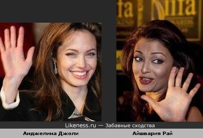 Айшвария Рай и Анджелина Джоли (фото3)