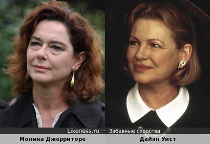 Моника Джерриторе и Дайан Уист