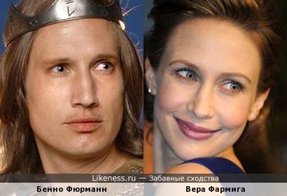 Бенно Фюрманн и Вера Фармига (версия2)