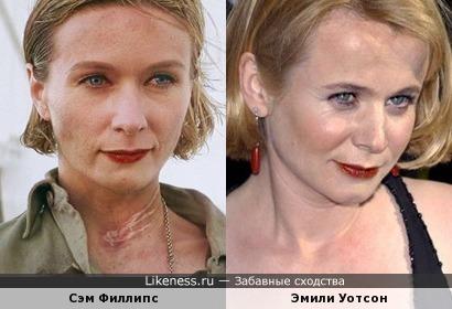 Сэм Филлипс и Эмили Уотсон