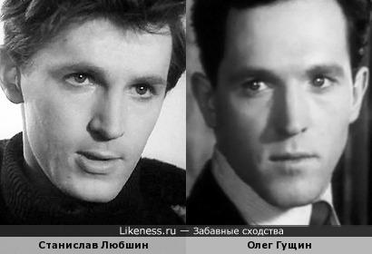 "Станислав Любшин и Олег Гущин (фильм ""Тишина"", 1992)"