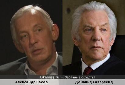 Сын Владимира Басова и Дональд Сазерленд