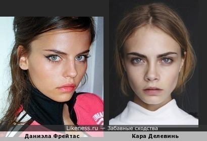 Даниэла Фрейтас и Кара Делевинь