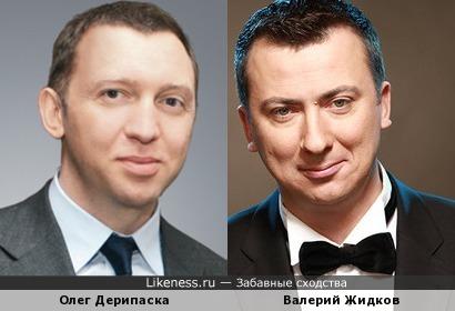 Олег Дерипаска и Валерий Жидков