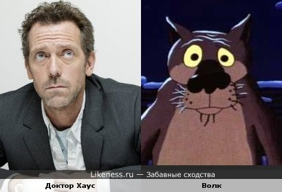 Доктор Хаус похож на Волка