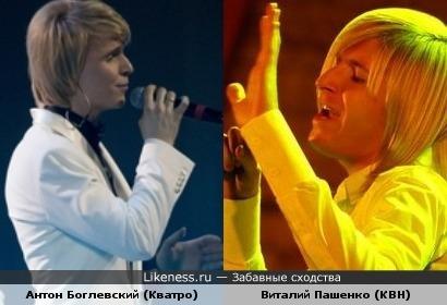 Антон Боглевский похож на Виталия Пашенко