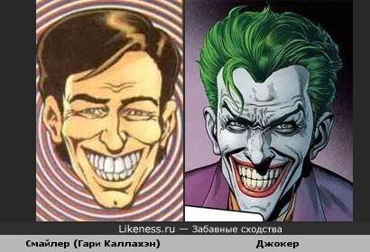 Смайлер из Transmetropolitan похож на Джокера