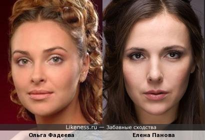 Актрисы в роли друг друга