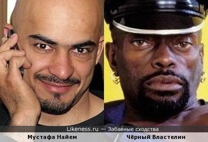 Мустафа Найем похож на Чёрного Властелина