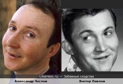 Александр Числов и Виктор Павлов похожи