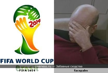 FIFA 2014 vs. facepalm