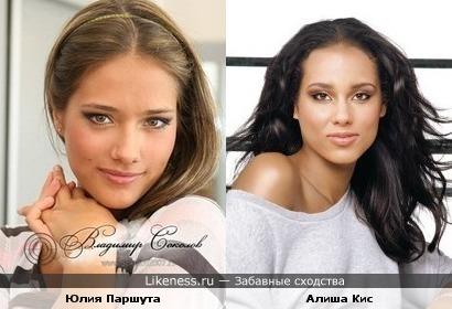 Юлия Паршута и Алиша Кис