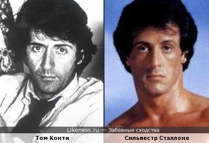 Том Конти в молодости похож на Сильвестра Сталлоне