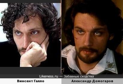 Винсент Галло похож на Александра Домогарова