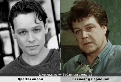 Всеволод Ларионов и Даг Хатчисон